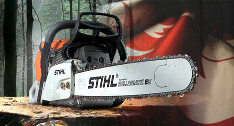 Chainsaws - Stockport, Cheshire - Redbrow Garden Machinery Ltd - Chainsaws